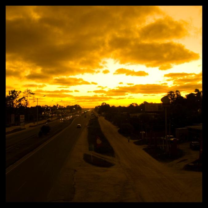 El horizonte se quema