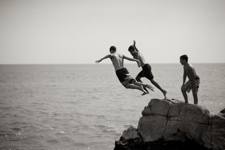 El Salto de Los Hombres | The jump of men
