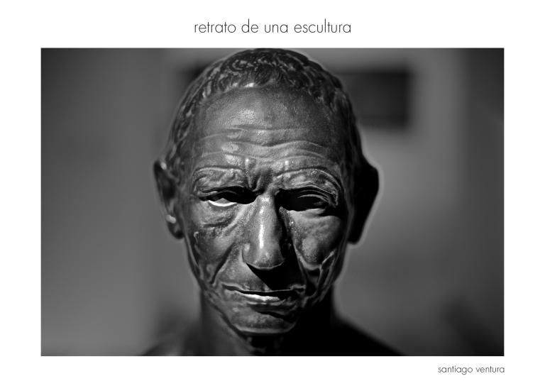 retrato de una escultura